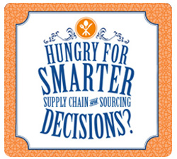 Are you hungry for smarter supply chain and sourcing decisions