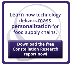 Learn how technology delivers mass personalization for food supply chains.