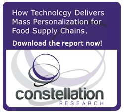 How Technology Delivers Mass Personalization for Food Supply Chains - Download the report now